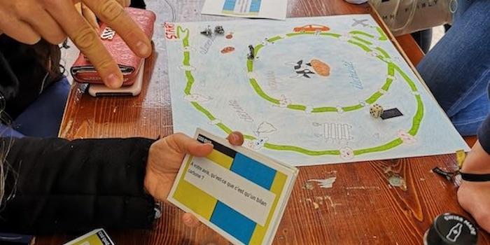 Collège Calvin 2018-2019: Jeu sur le développement durable