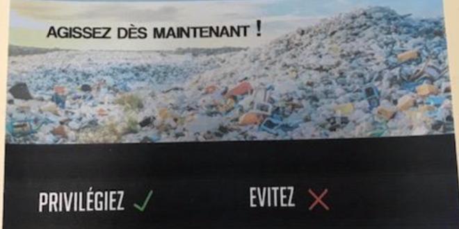 Lycée Jean-Piaget 2019-2020: Campagne de sensibilisation sur la consommation de plastique