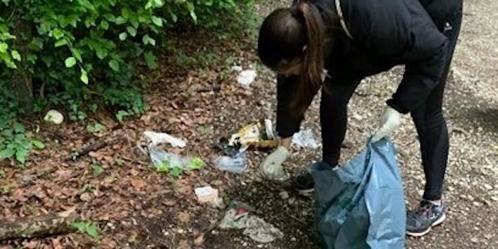 Lycée Jean-Piaget 2019-2020: une nature libre de déchets.
