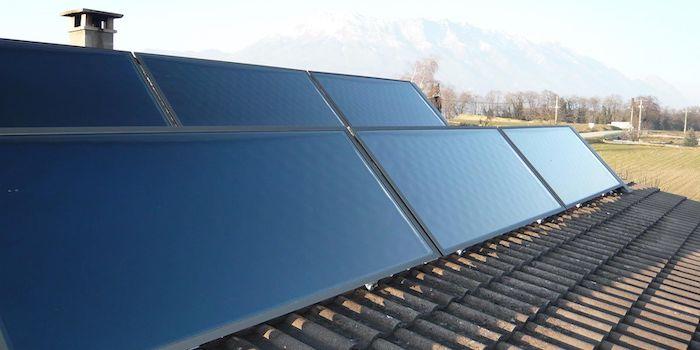 Gymnase de Nyon 2020-2021: Projet d'installation de panneaux solaires thermiques
